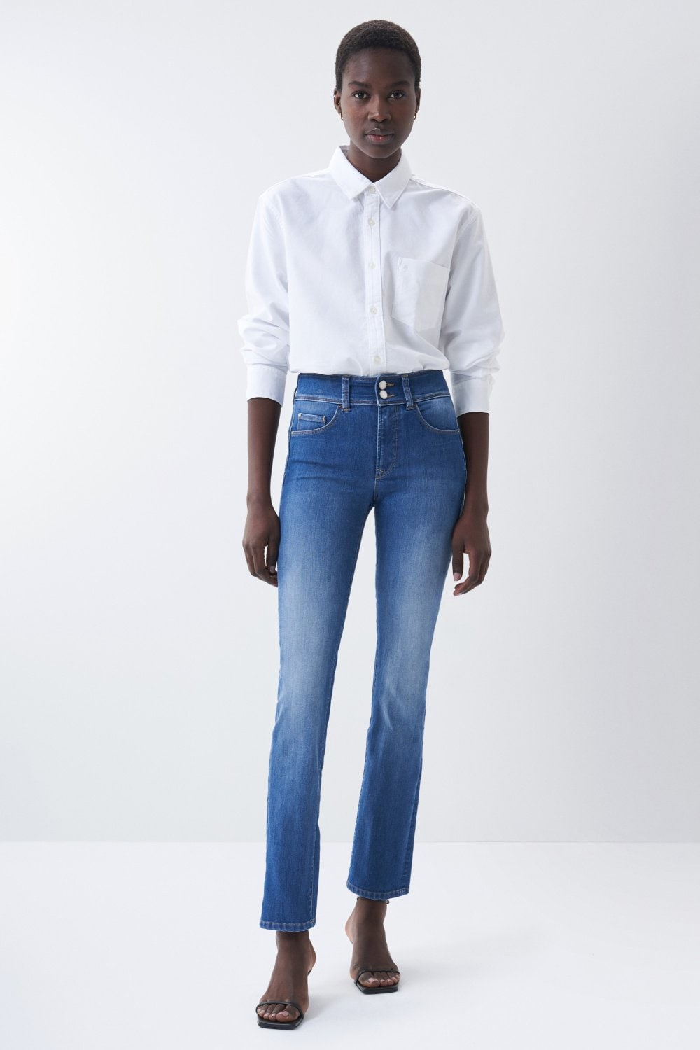 Jeans Push In Secret avec jambe slim - Salsa