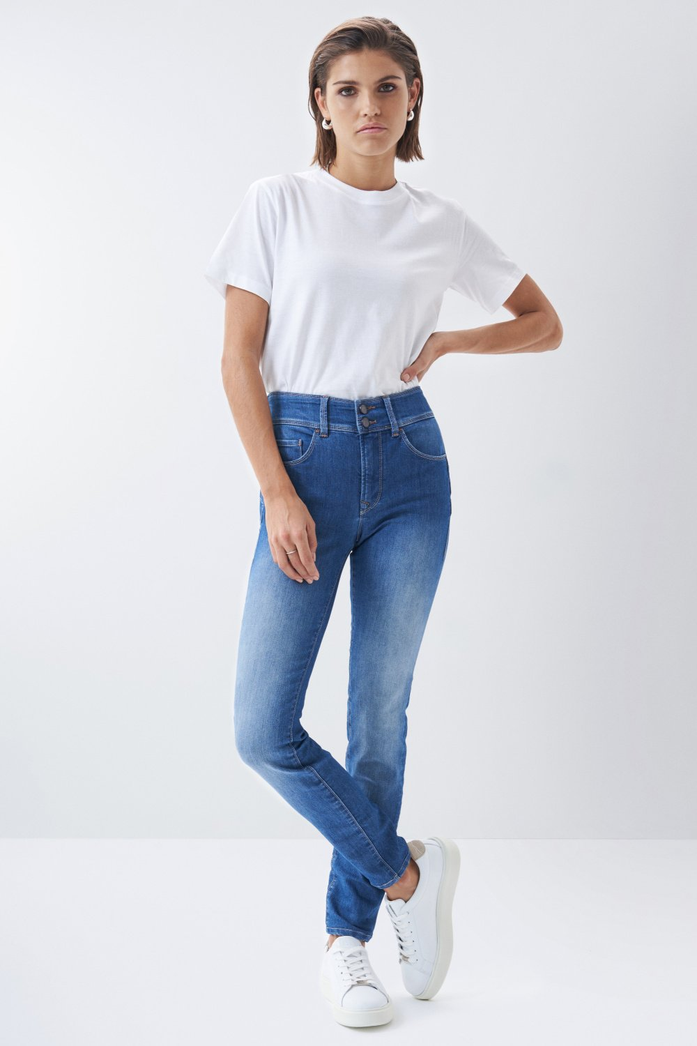 Jeans Secret Push In skinny - Salsa