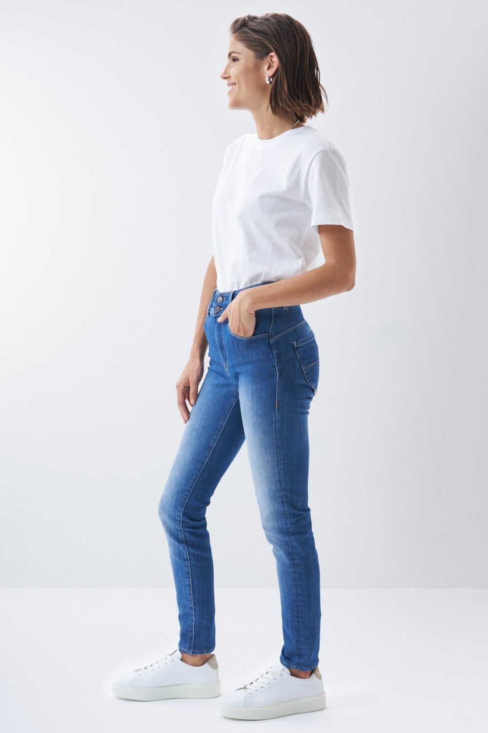 Jeans Secret, Plus Push In, Skinny - Salsa