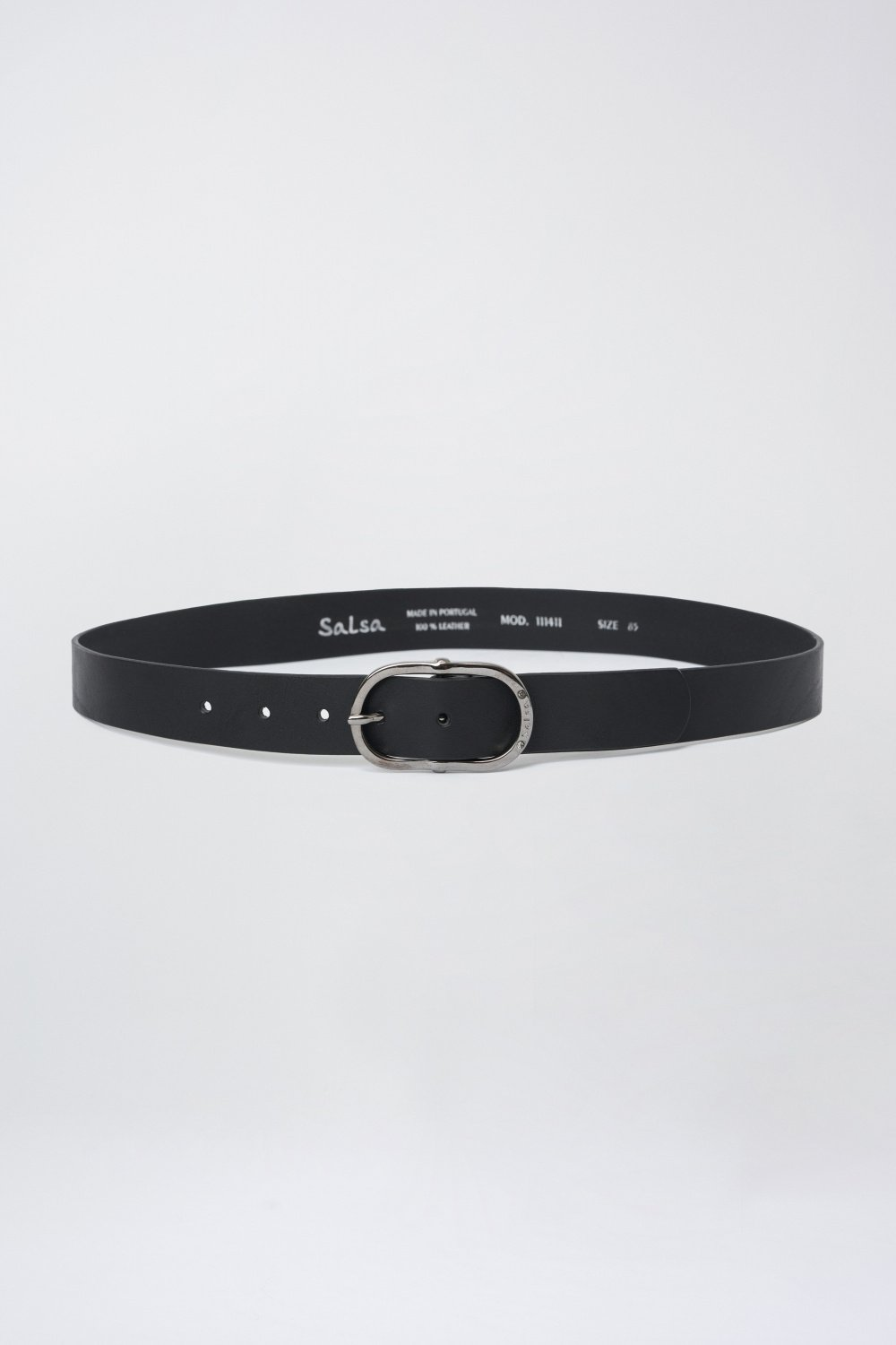 Thin leather belt - Salsa