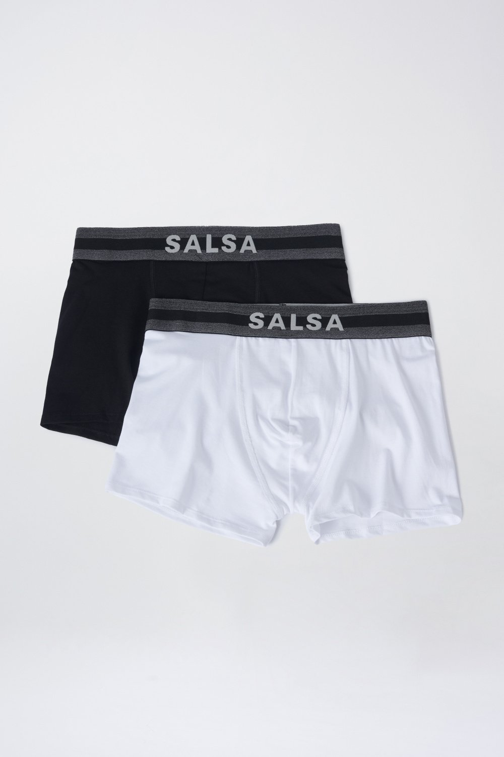 Pack White + Black boxers - Salsa