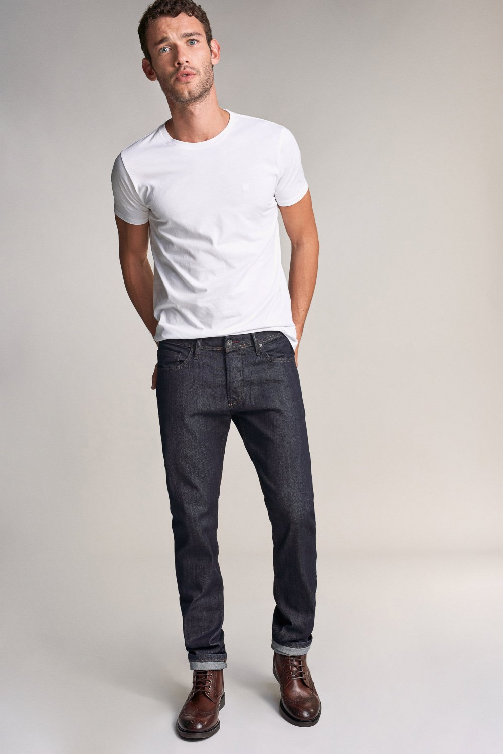 Tapered lima rinse wash jeans - Salsa