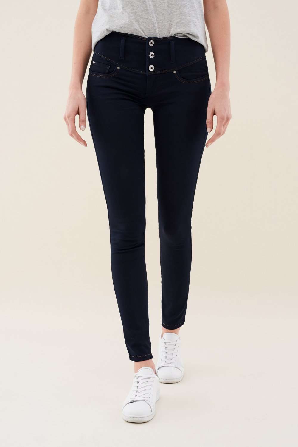 Mystery push up skinny soft denim jeans - Salsa