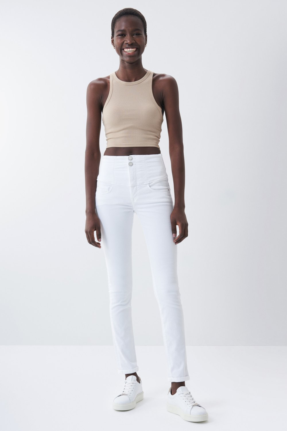 Diva slim fit slimming jeans - Salsa