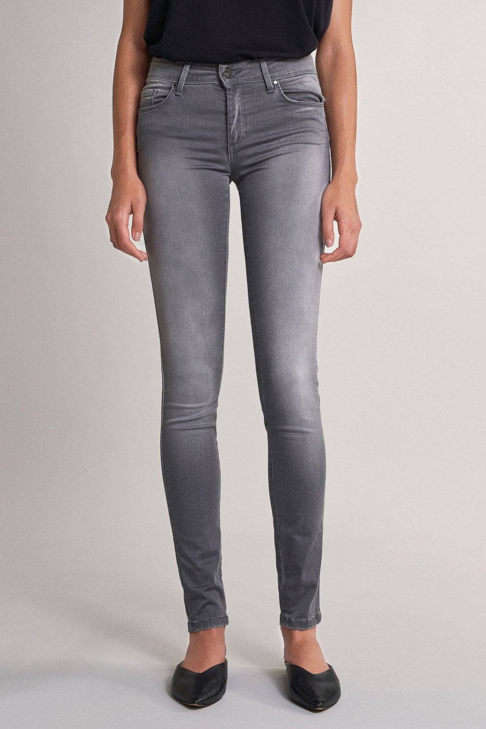 Push up jeans with skinny leg - Salsa