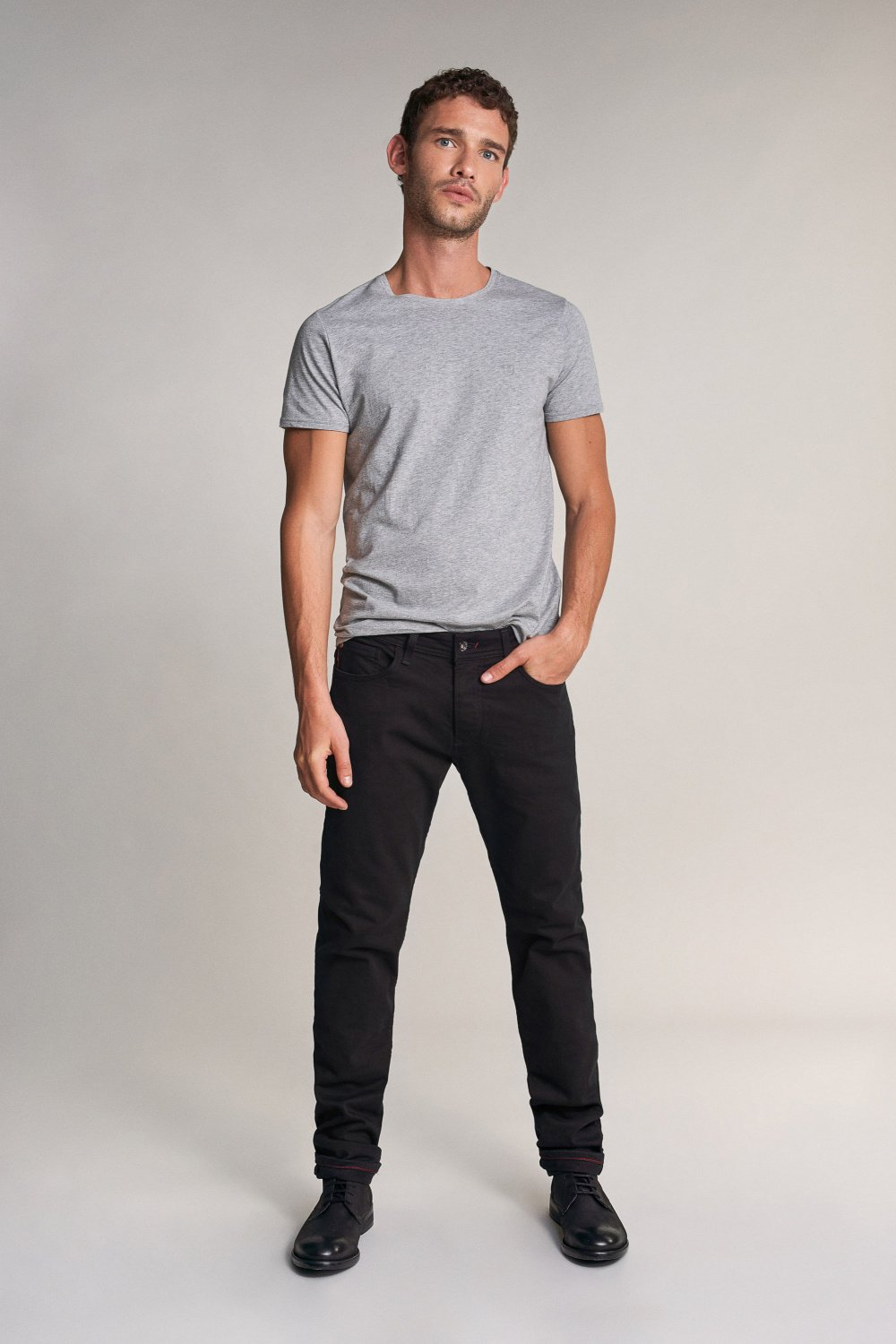Lima tapered jeans in black - Salsa
