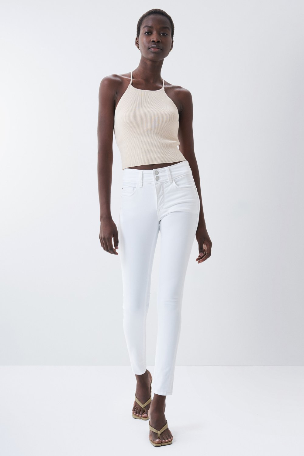 Jeans secret push in skinny de cor - Salsa