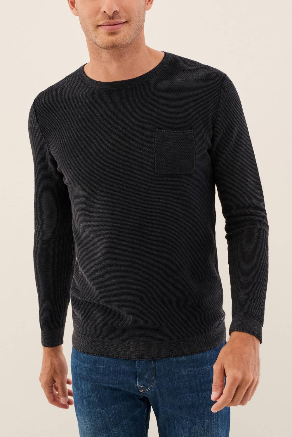 Sweatshirt with pocket - Salsa