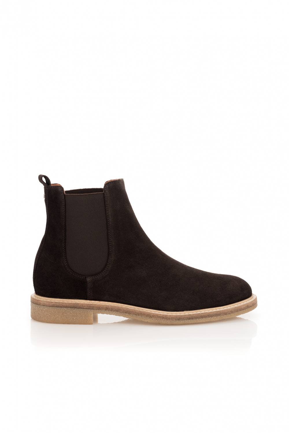 Suede ankle boot with elastic - Salsa