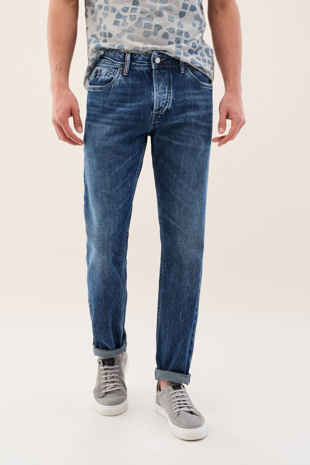 Slim Lima jeans in medium wash - Salsa