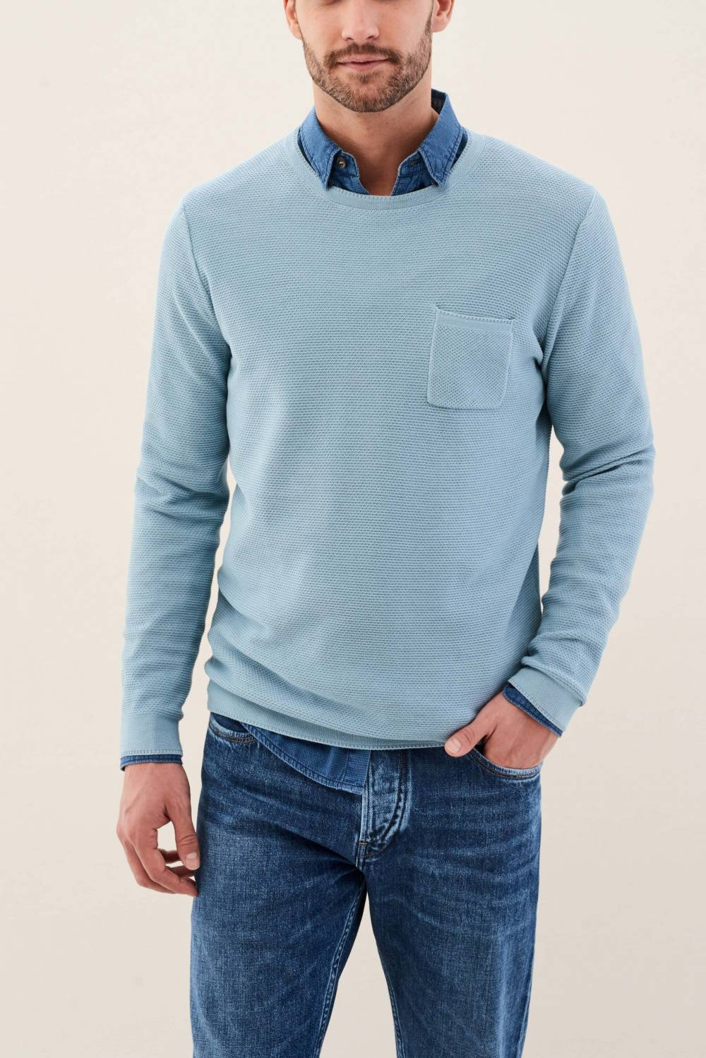 Jumper with pocket - Salsa