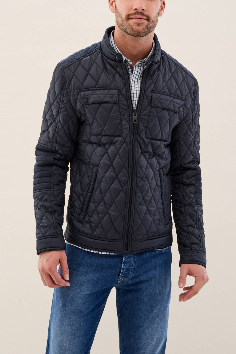 Padded jacket with pockets - Salsa