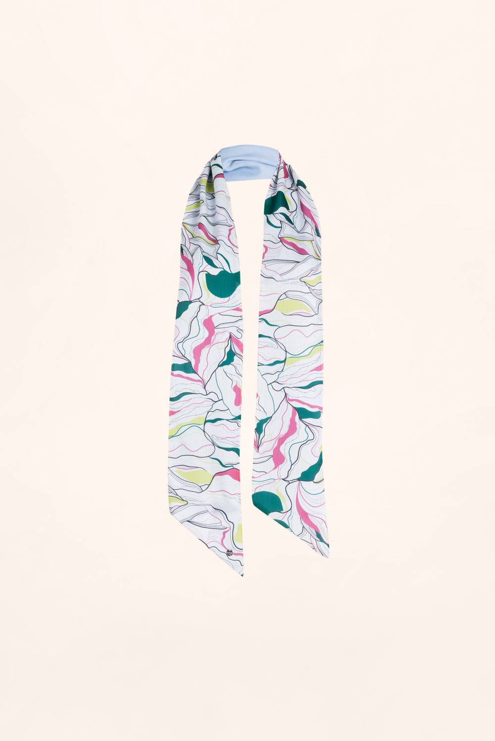 Large printed headband - Salsa