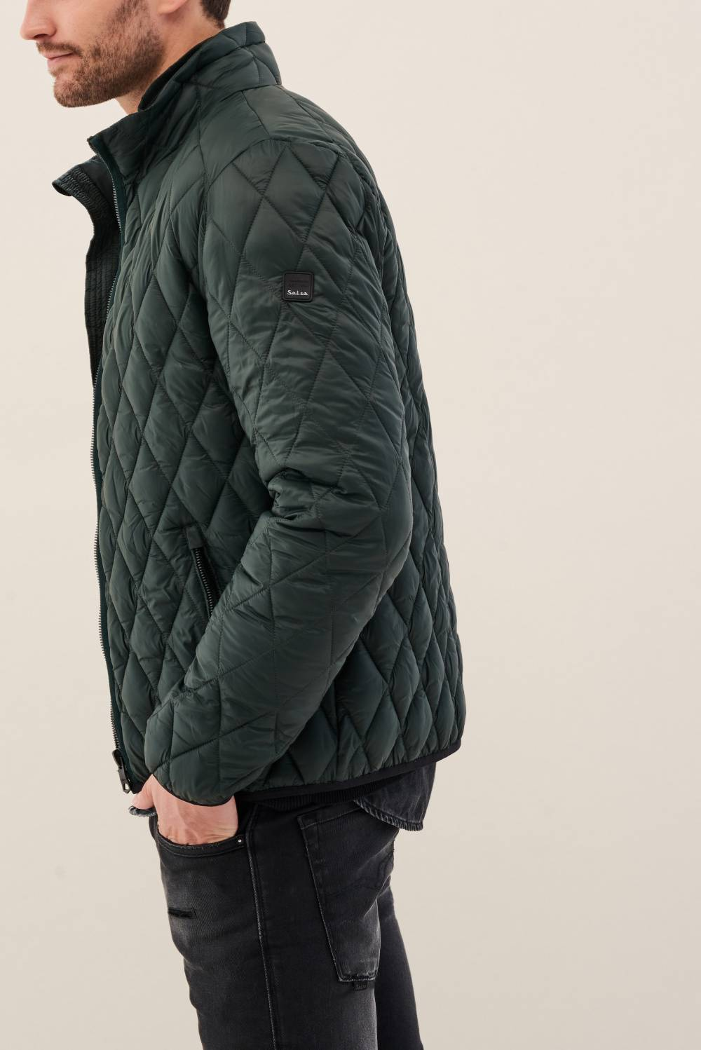 Padded jacket with hood - Salsa