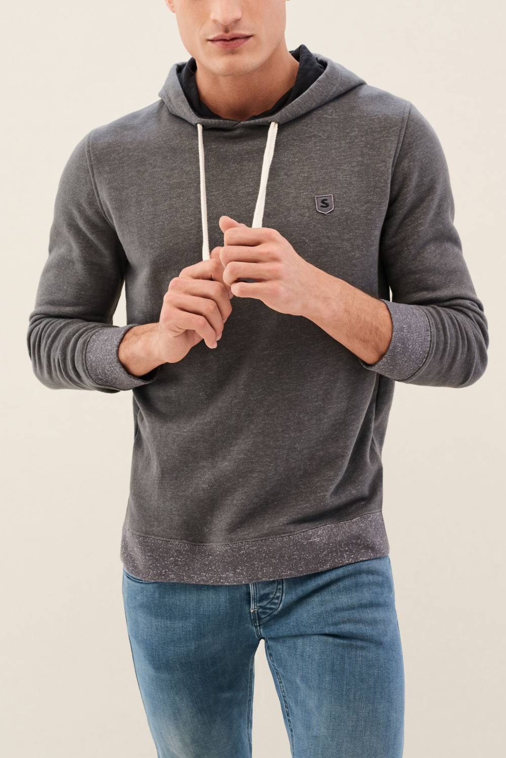 Hooded sweatshirt - Salsa