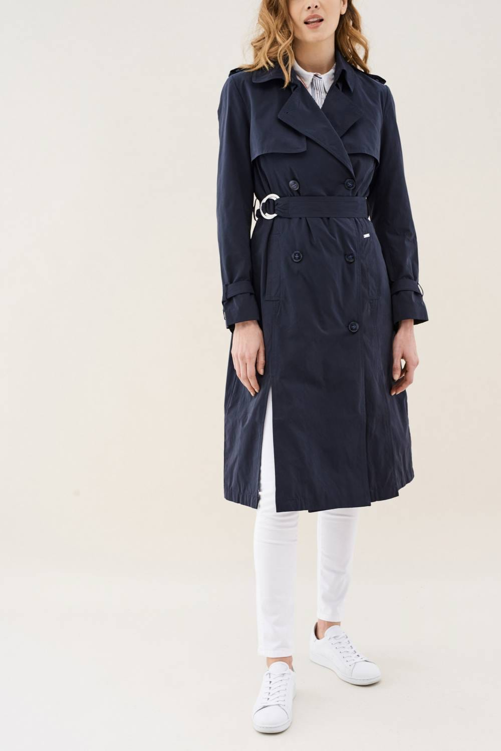 Trench coat with belt - Salsa