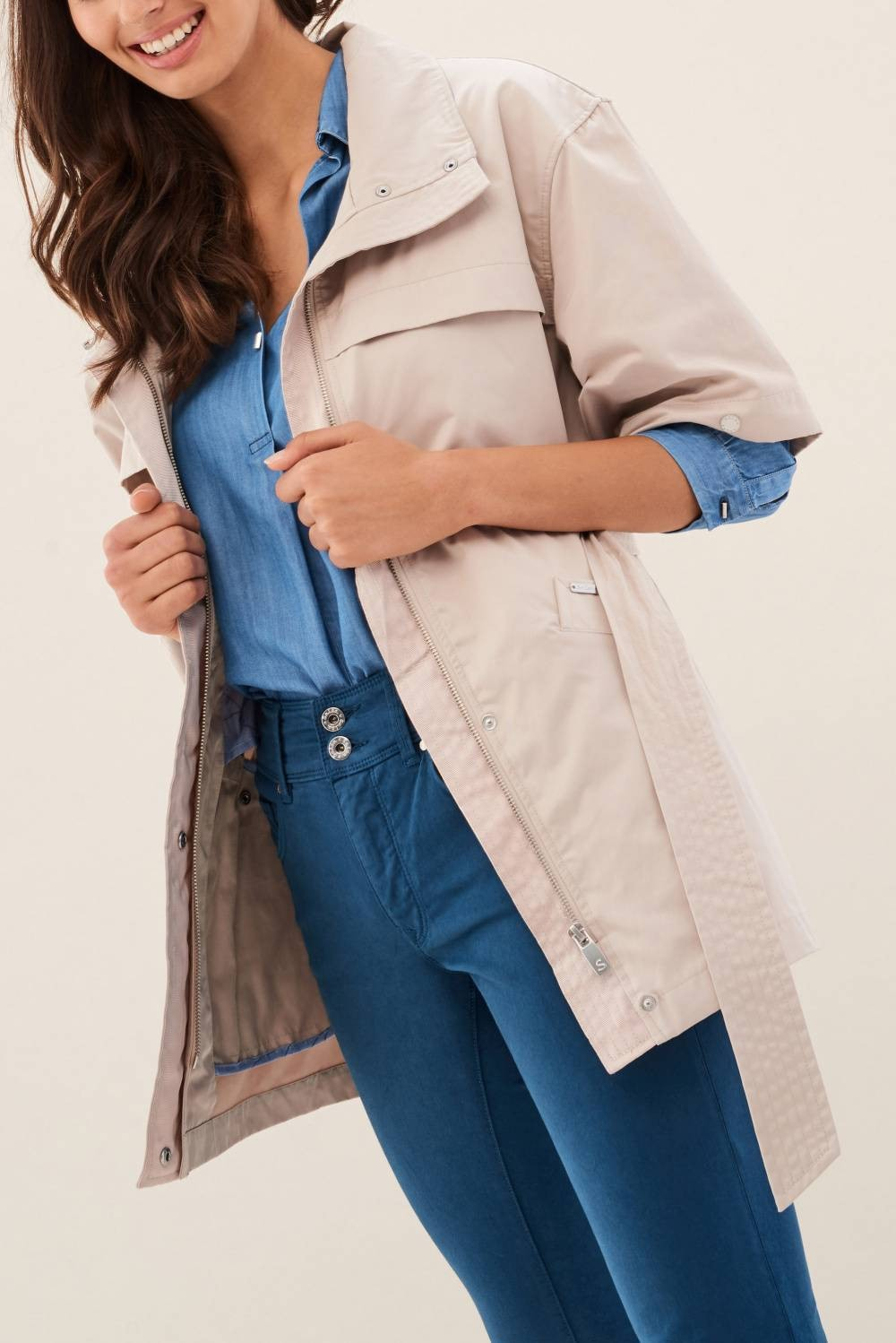 Parka with removible sleeves - Salsa