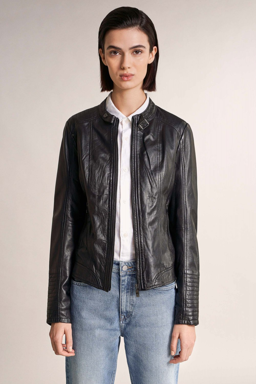Leather jacket - Salsa