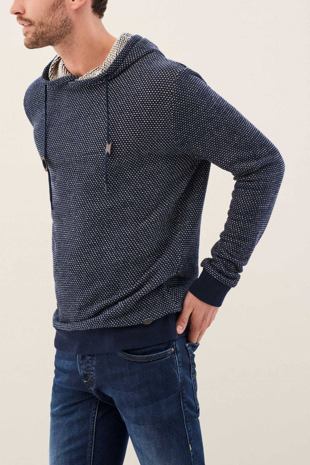 Knitted sweater with turtleneck - Salsa
