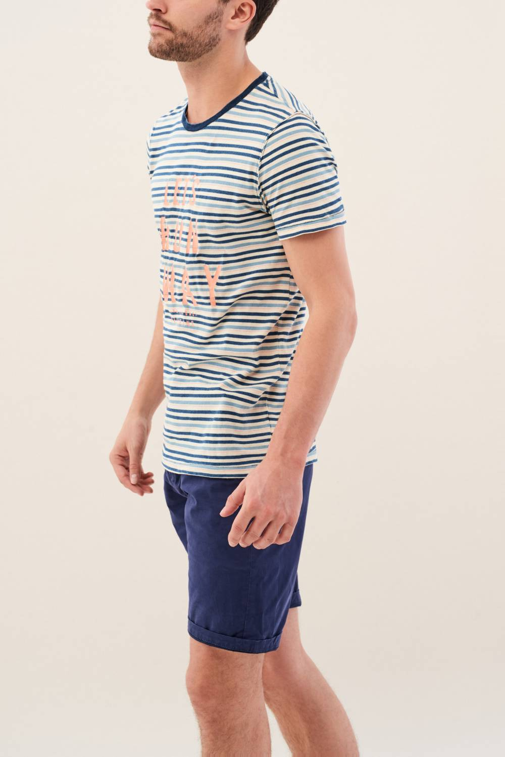 Striped t-shirt - Salsa