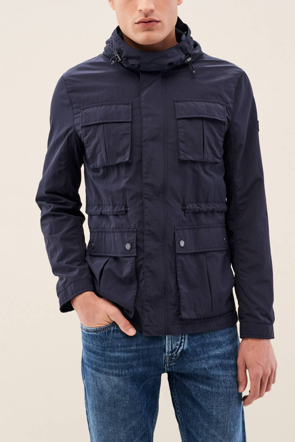 Parka with pockets - Salsa