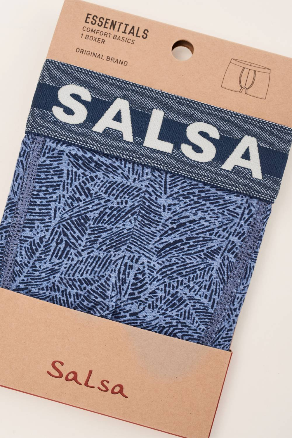 Boxers with microprint - Salsa