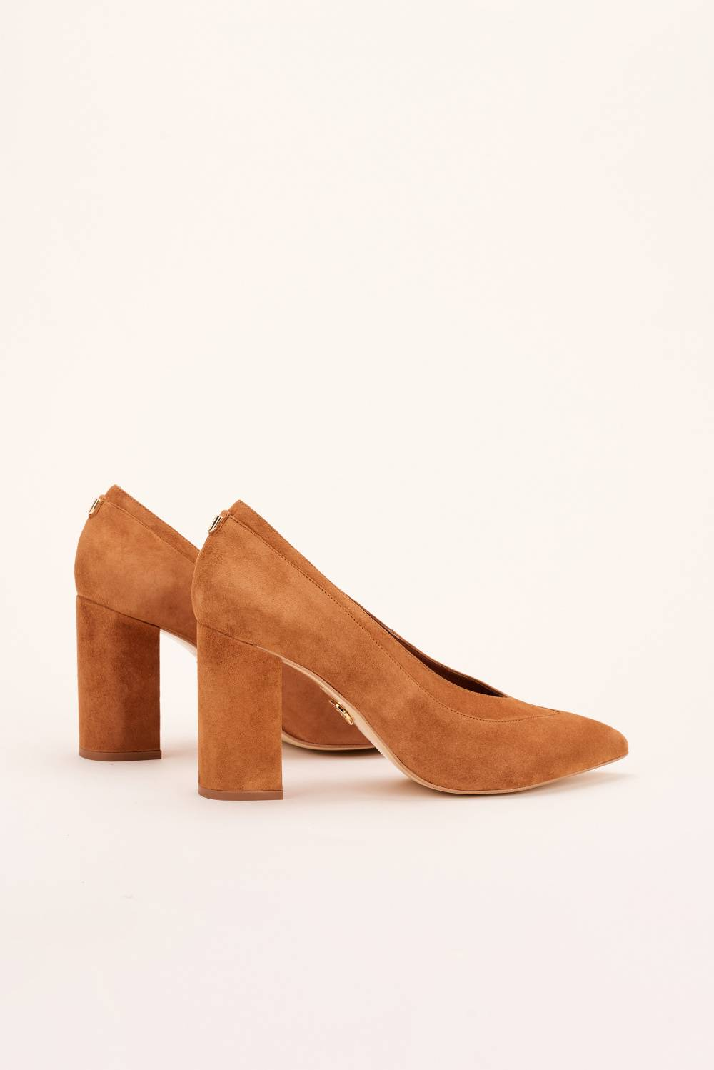 High heeled suede shoes - Salsa