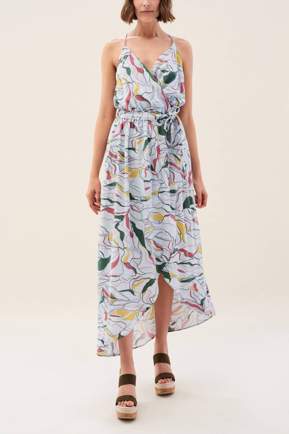 Long dress with print - Salsa
