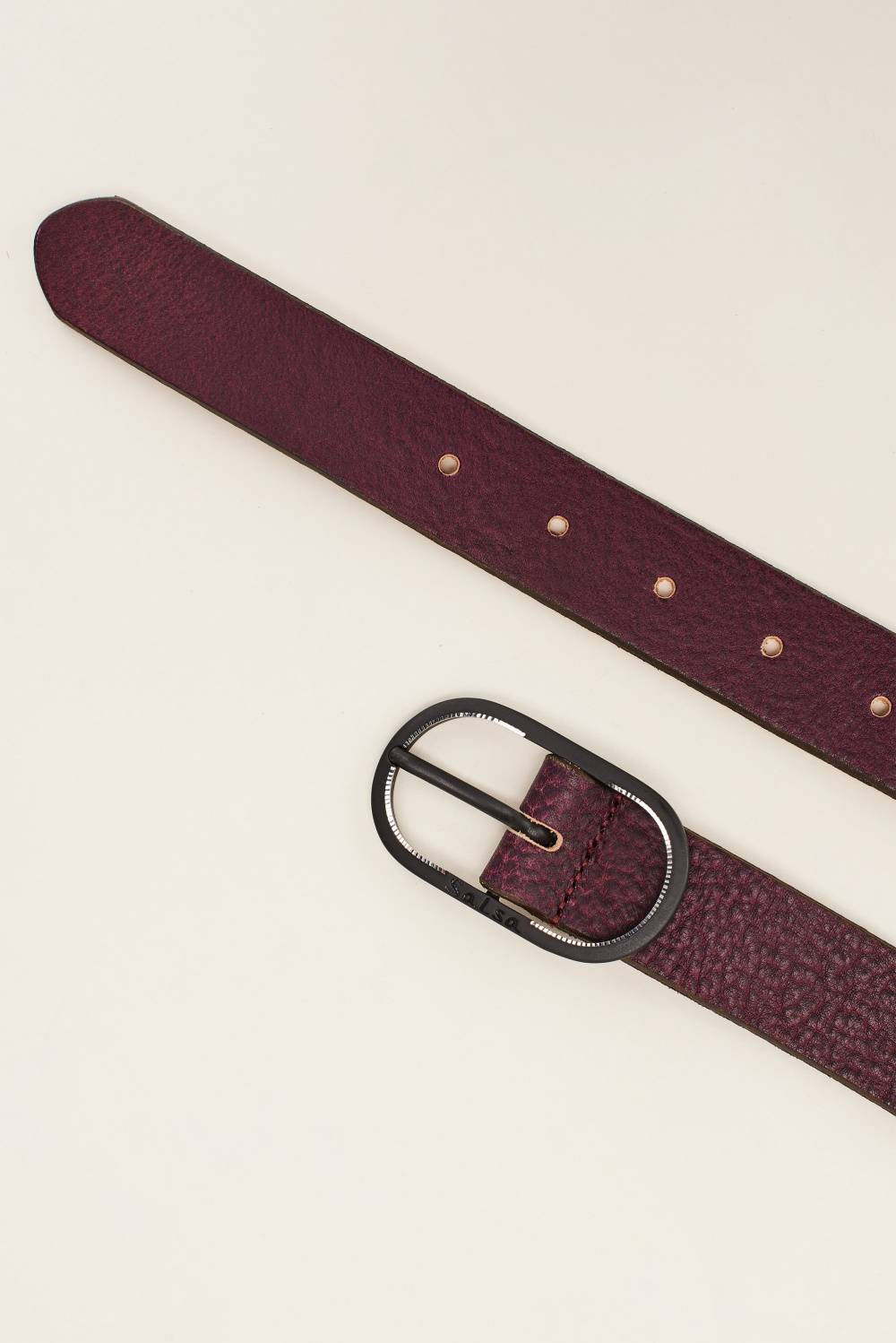 Plaited belt - Salsa