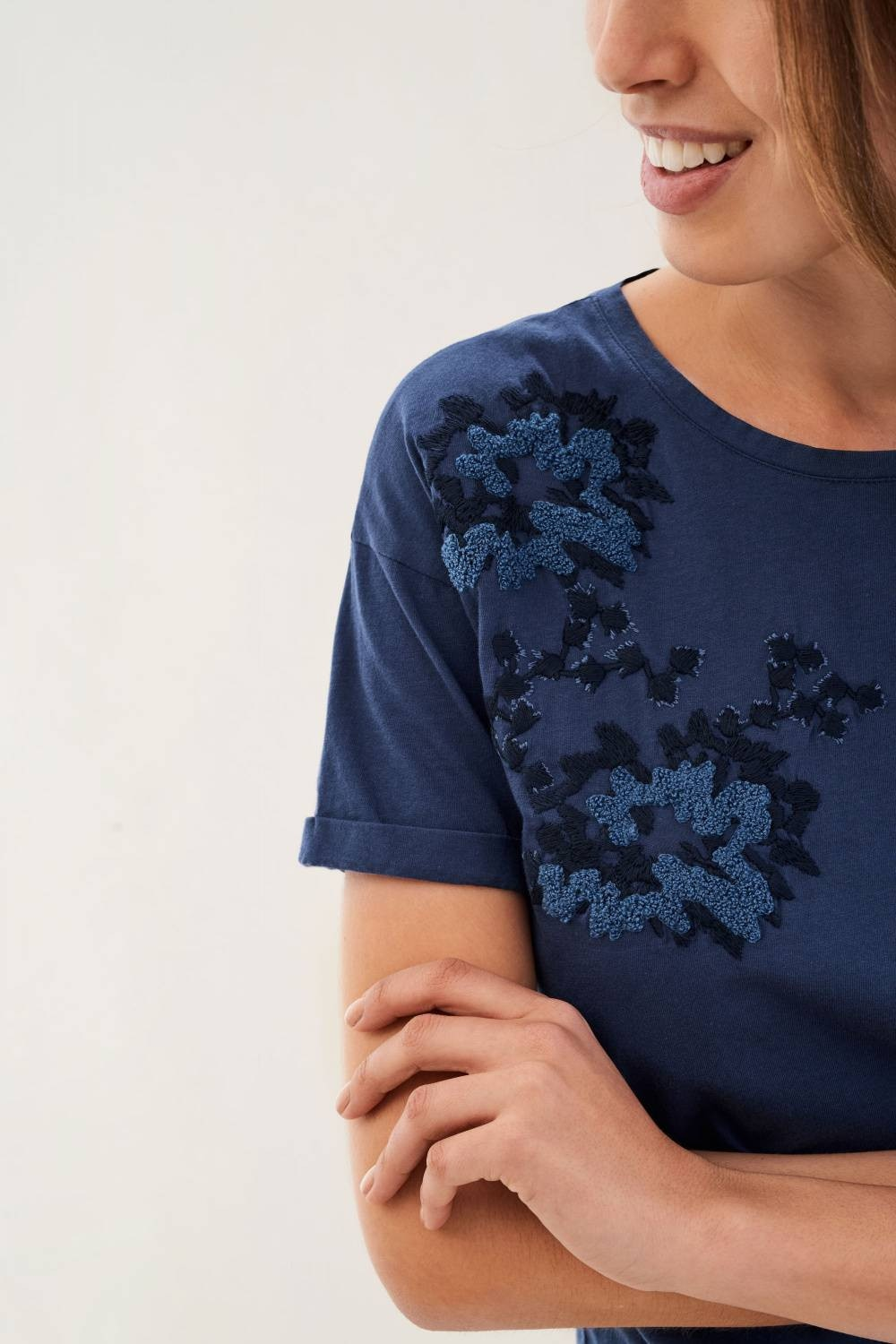 T-shirt with embroidery - Salsa