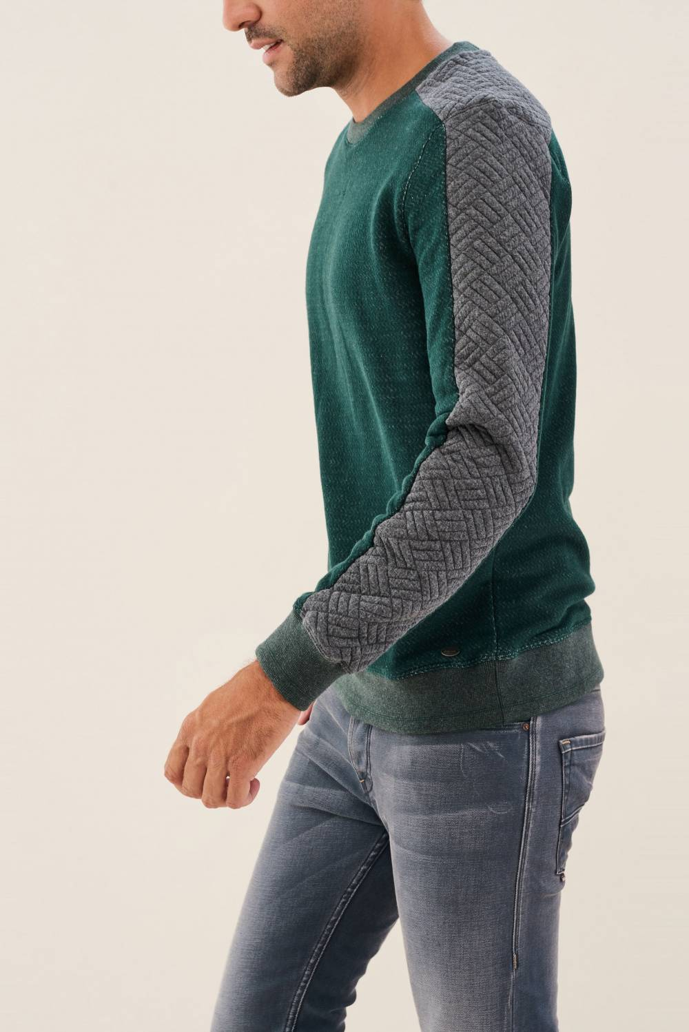 Sweatshirt with detail on sleeves - Salsa