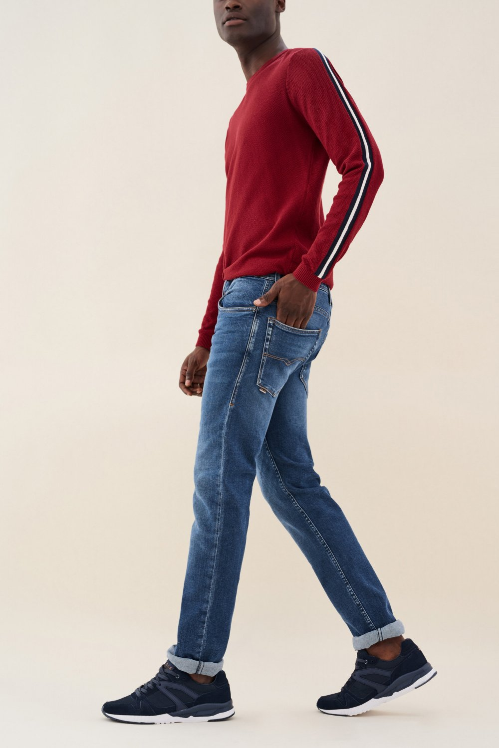 Jeans lima tapered colore medio - Salsa