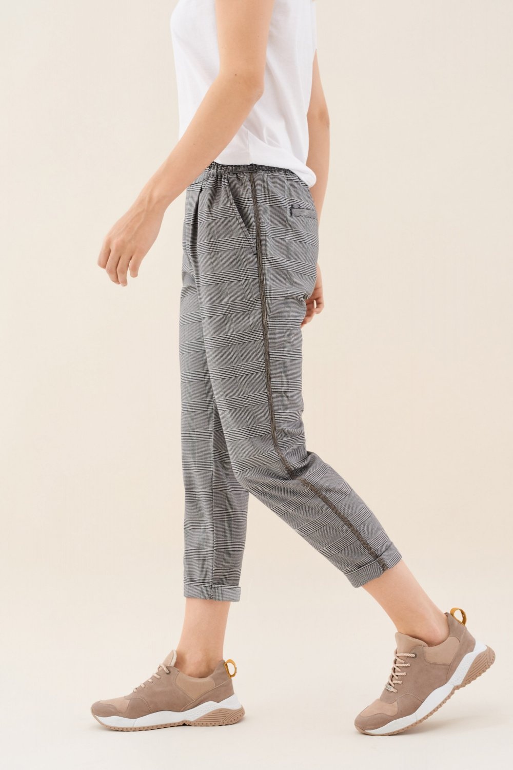 June jogger trousers in chess - Salsa