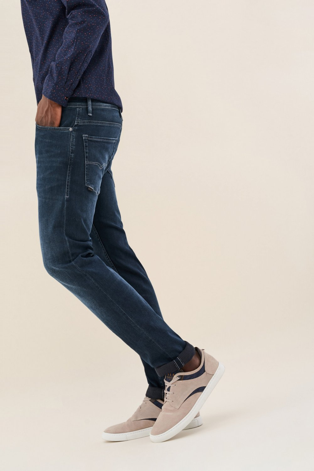Jeans Lima, Tapered, - Salsa