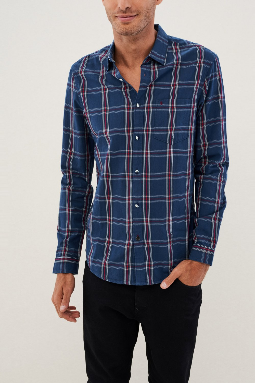 Slim fit checked shirt - Salsa