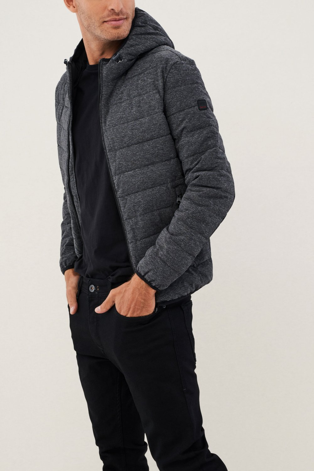 Regular fit denim with hood - Salsa