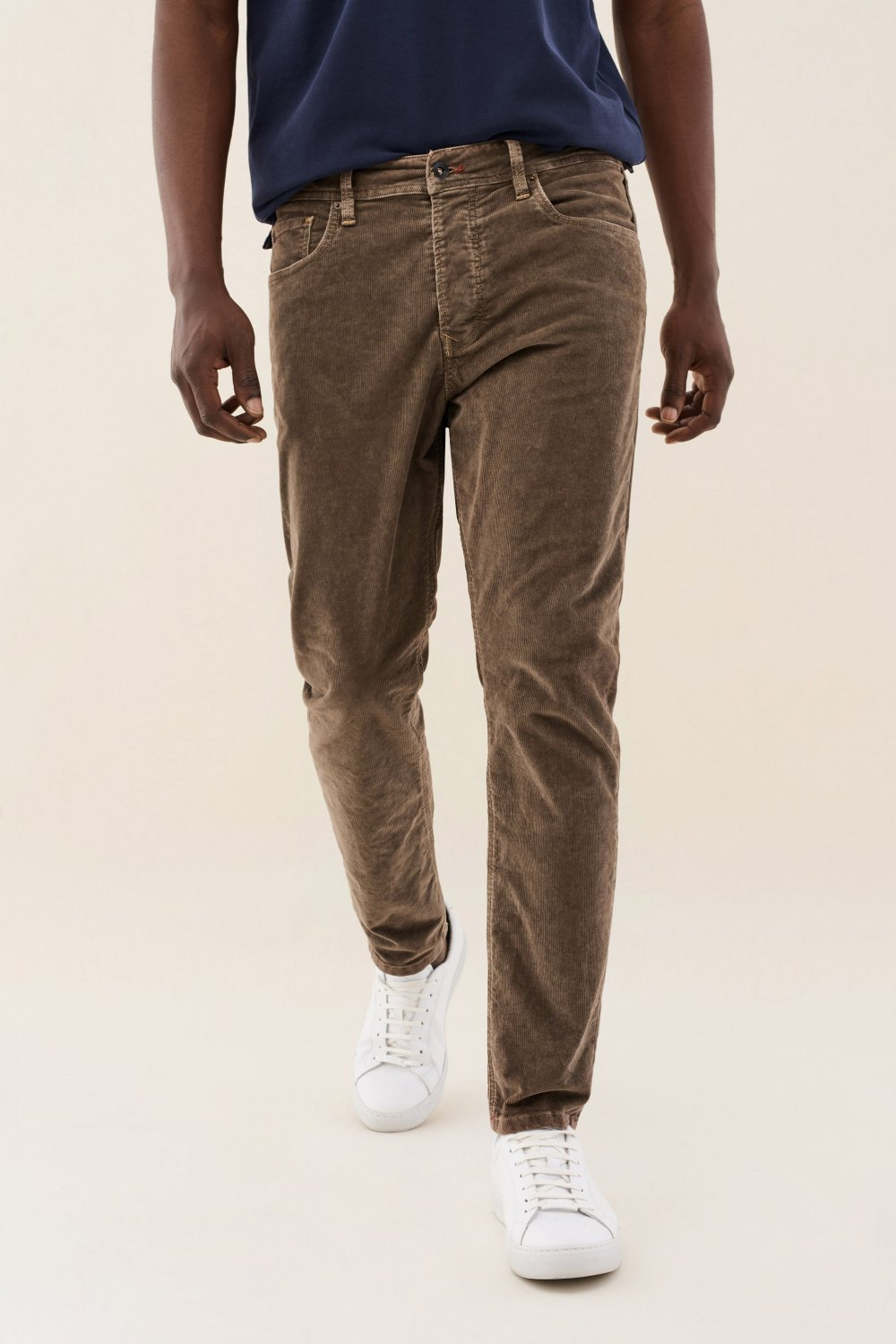 Hose Karl Loose, Slim Fit, Kordstoff - Salsa