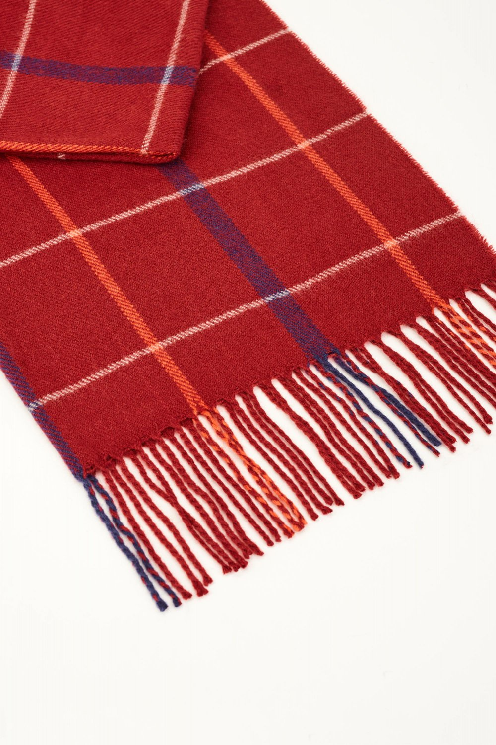 Checked scarf - Salsa