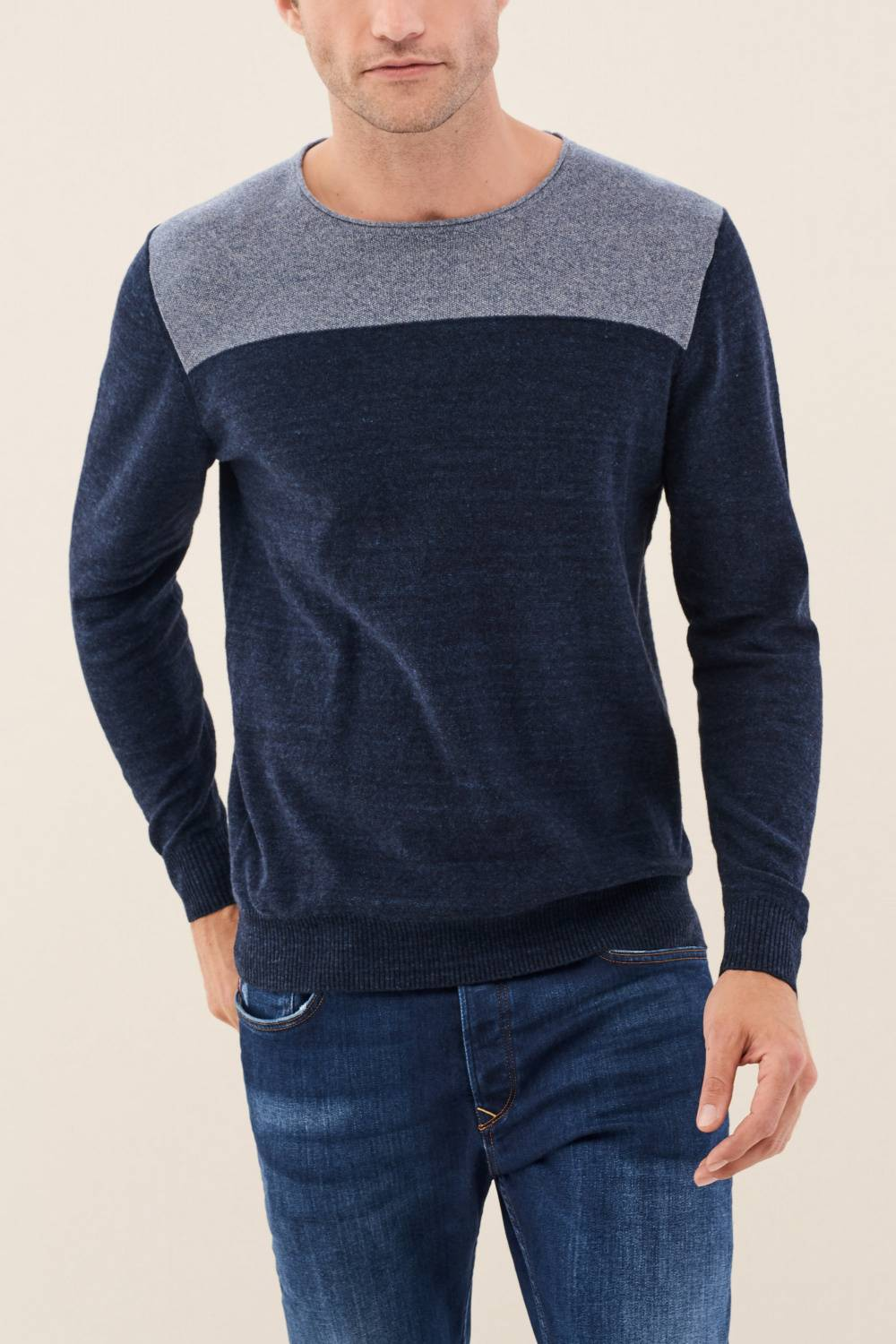 Soft knit jumper - Salsa
