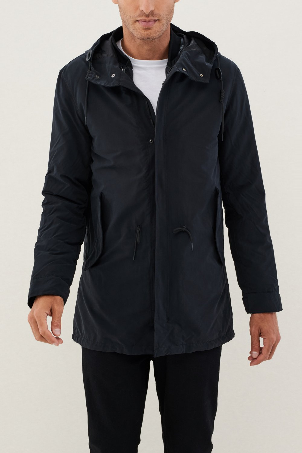 Long parka with hood - Salsa