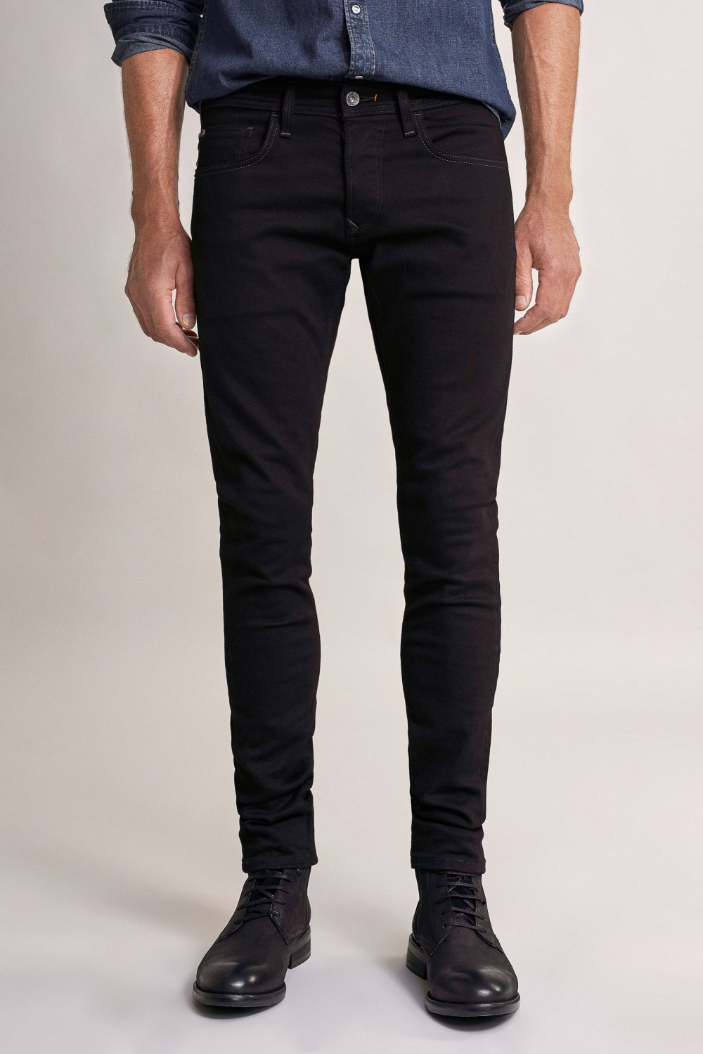 Jeans Clash skinny noirs - Salsa