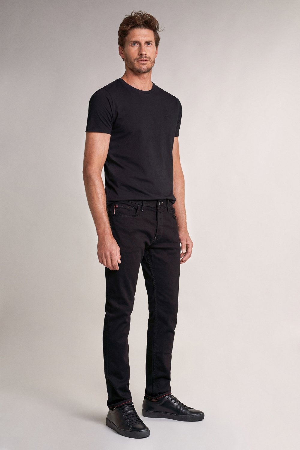 Jeans lima tapered scuri - Salsa