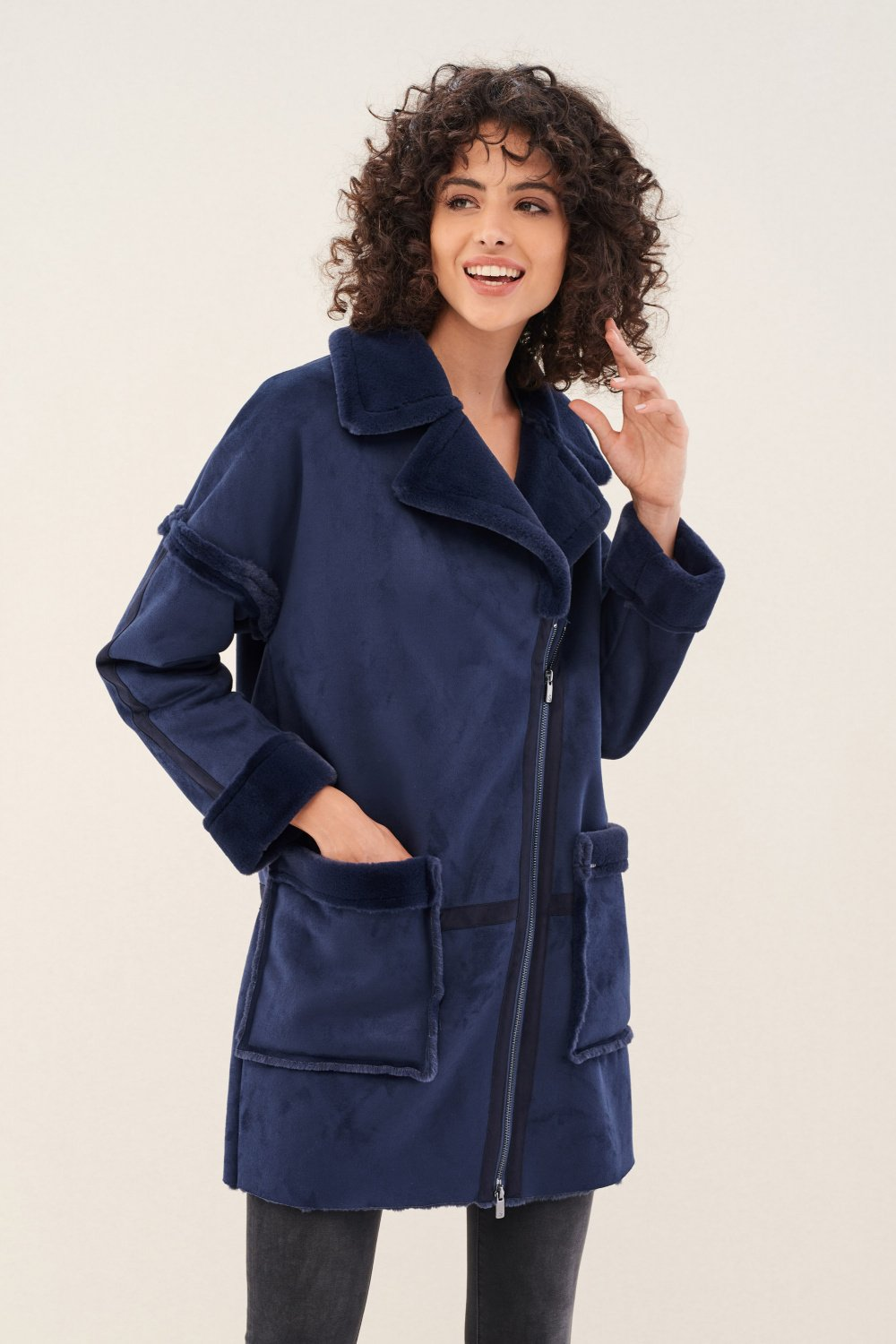 Coat with pockets - Salsa