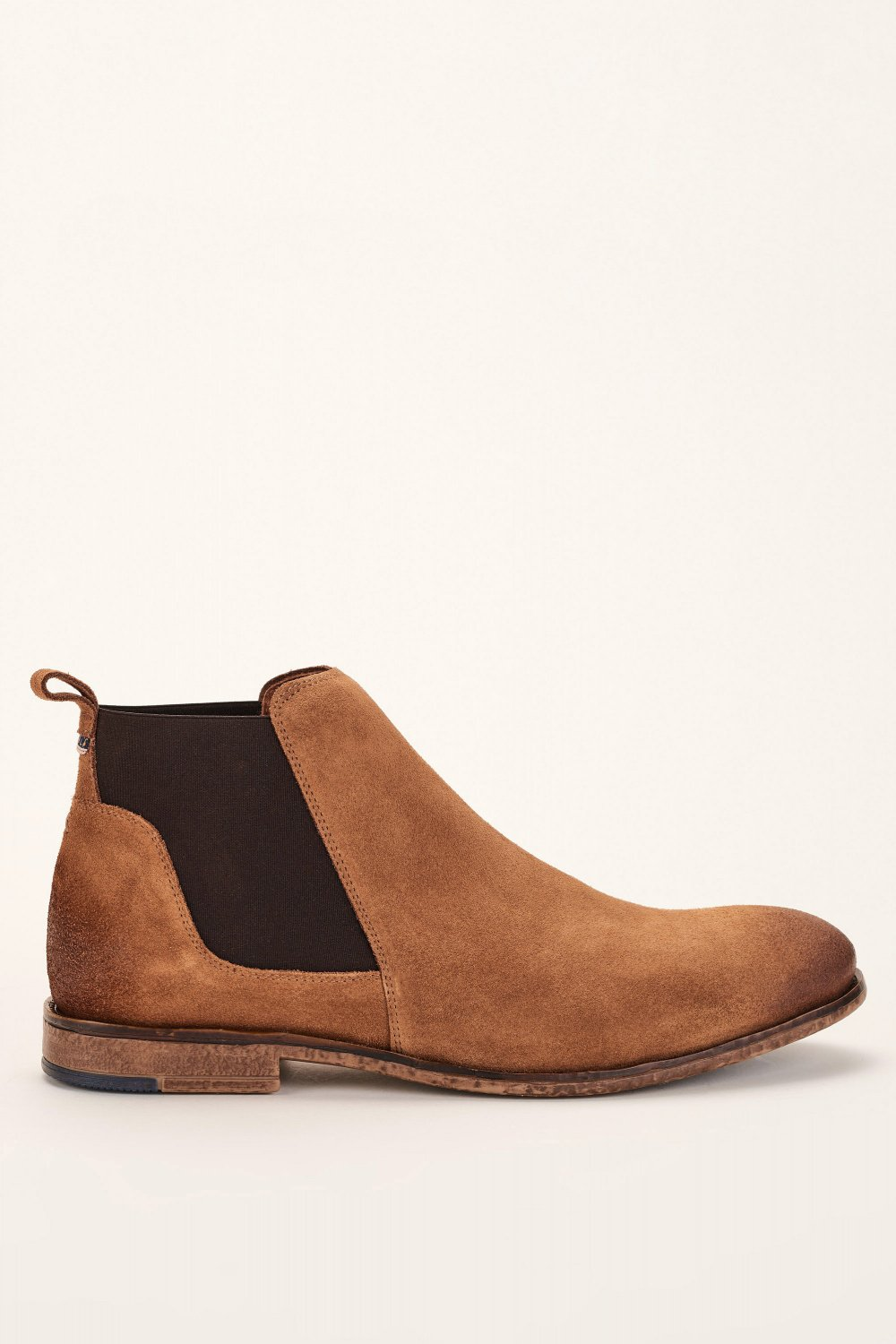 Stretchy ankle boot in leather - Salsa