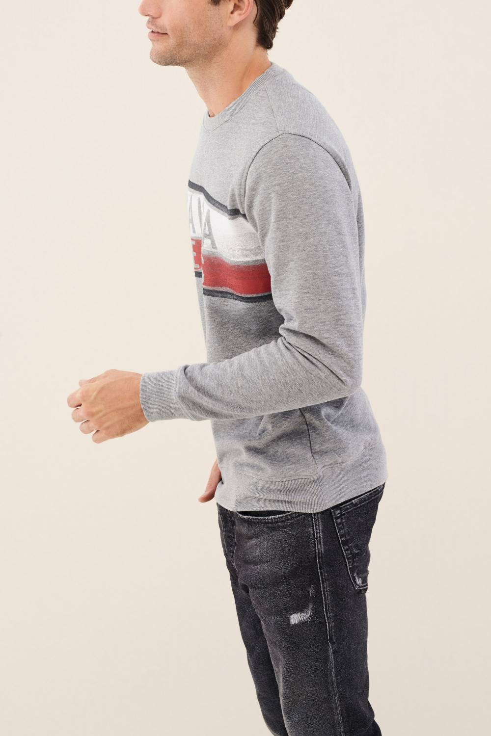 Regular fit sweatshirt with logo - Salsa