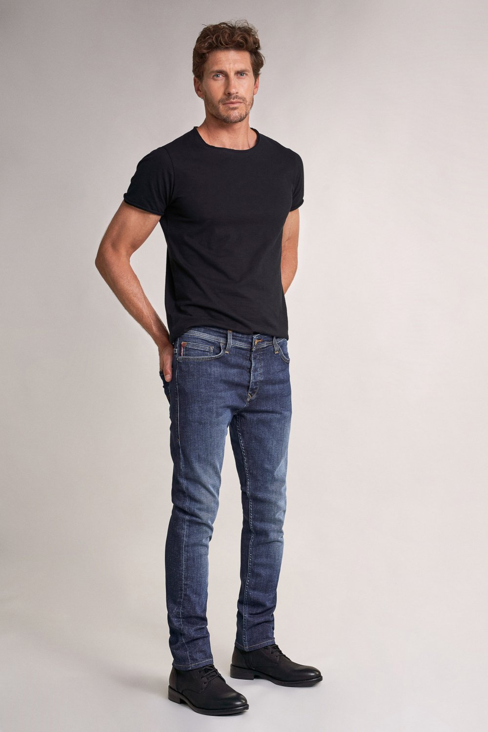 Slender slim carrot rip-proof jeans - Salsa