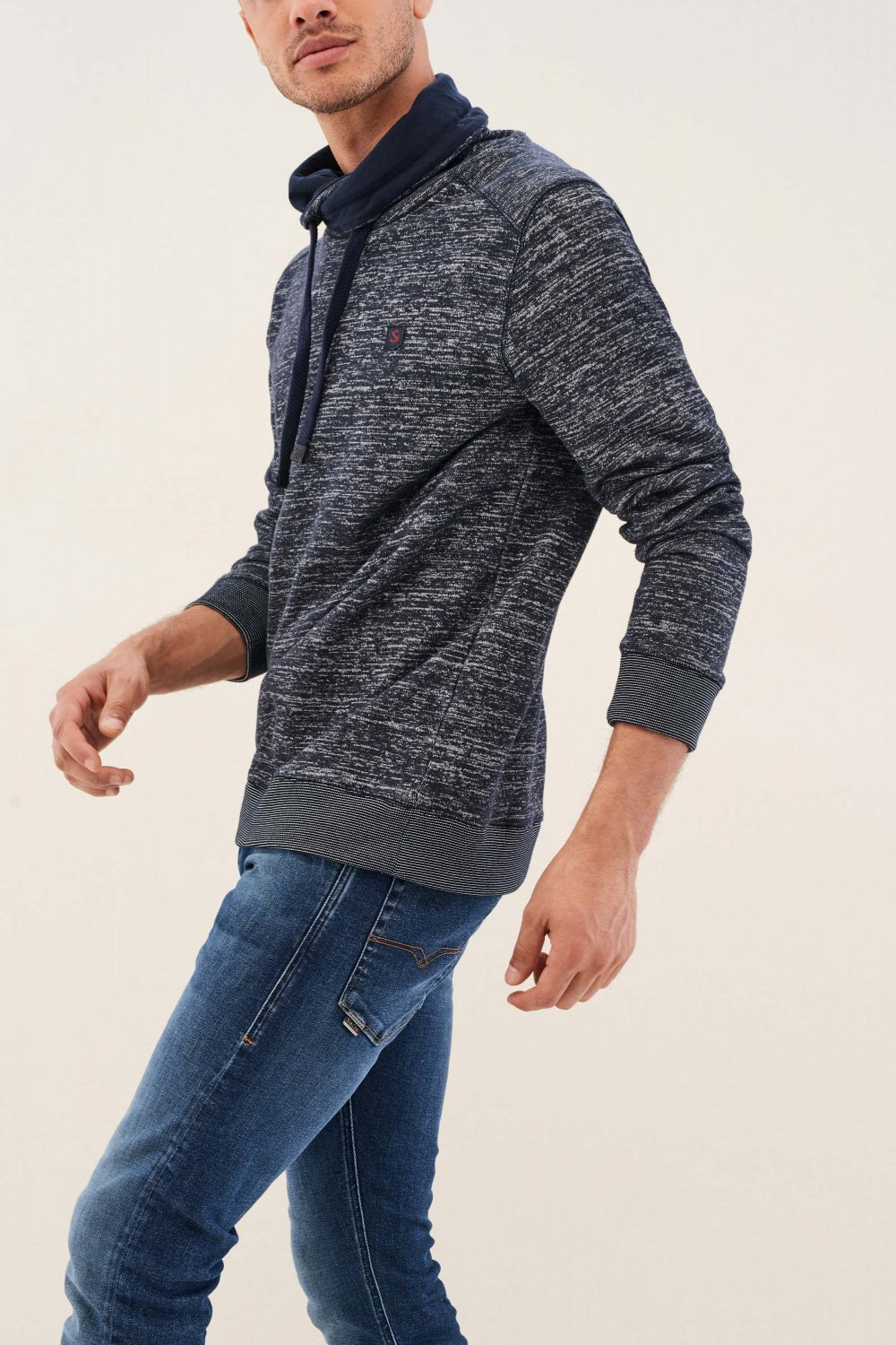 Jumper with texture - Salsa
