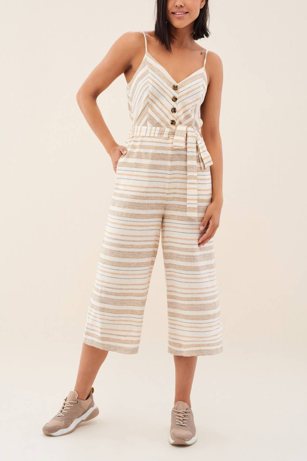 Striped jumpsuit - Salsa