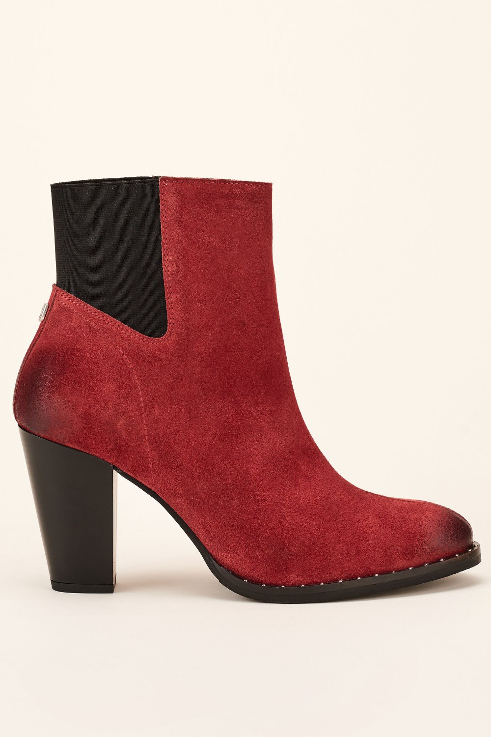 High heeled leather ankle boot - Salsa