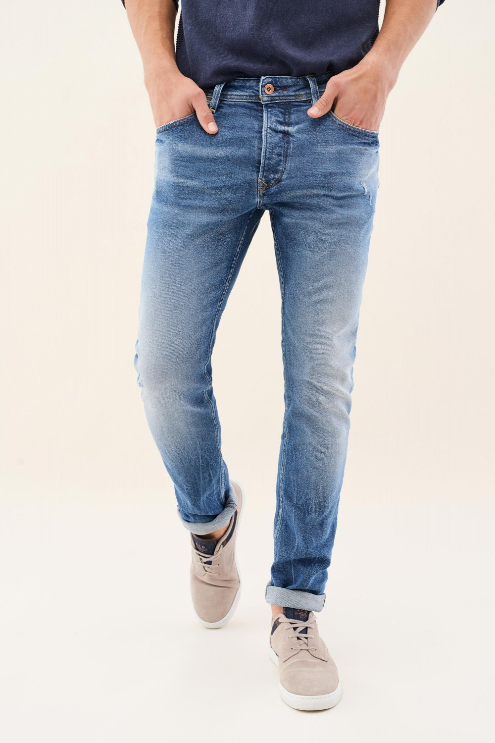 Vaqueros lima tapered media vintage - Salsa